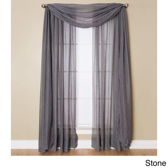 Window scarf, Preston and Curtains on Pinterest