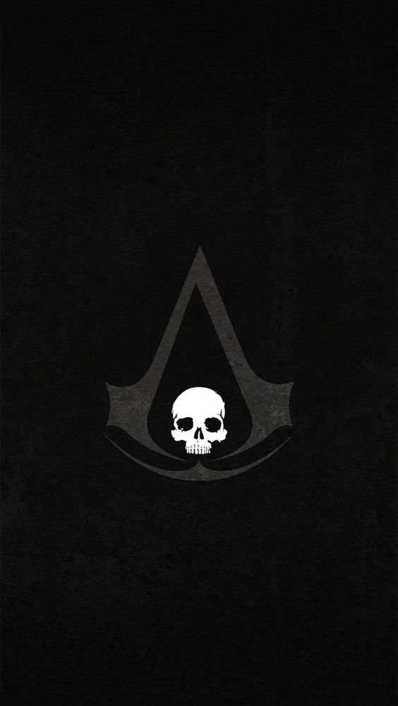 wallpaper assassins creed black flag symbol