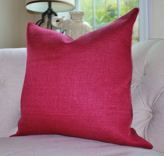 Red And Purple Decorative Pillows Alepsi For Inspiration Raspberry Decorative Pillows