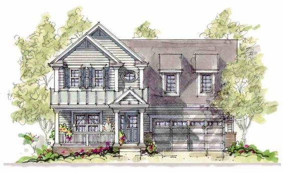 Country House Plan with 1575 Square Feet and 3 Bedrooms from Dream Home Source | House Plan Code DHSW22079