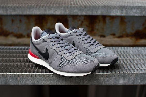 Nike internationalist leather grey - lovin' them shoes