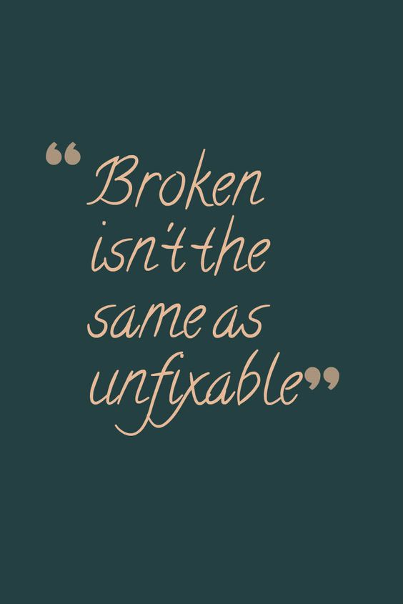 """Broken isn't the same as unfixable"" ~Iko and Cinder from Winter by Marissa Meyer"