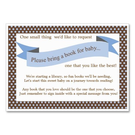 love business blue baby showers cards baby showers baby shower books
