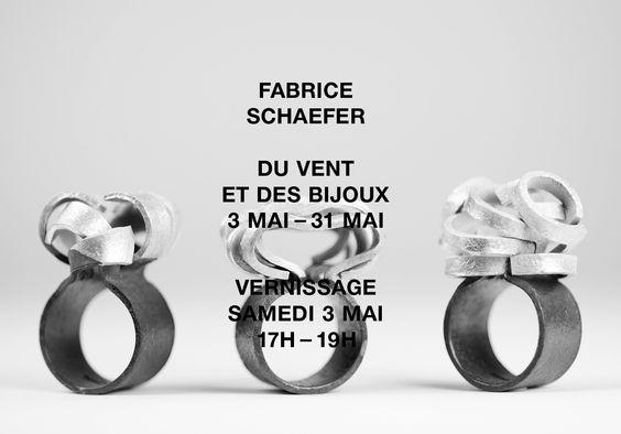 """Viceversa —   """"Du vent et des bijoux""""  3-31 mai 2014 - Fabrice Schaefer"""