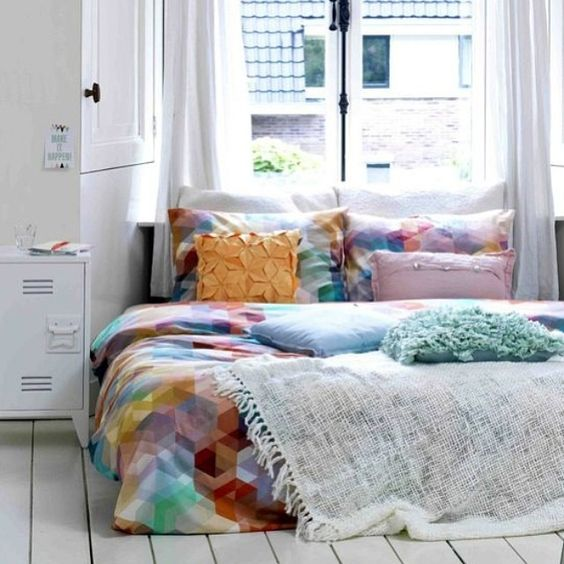#hkliving #nightstand #white #industrial #lockernightstand via #pinterest #interiordesign #homedecor #homedecoration