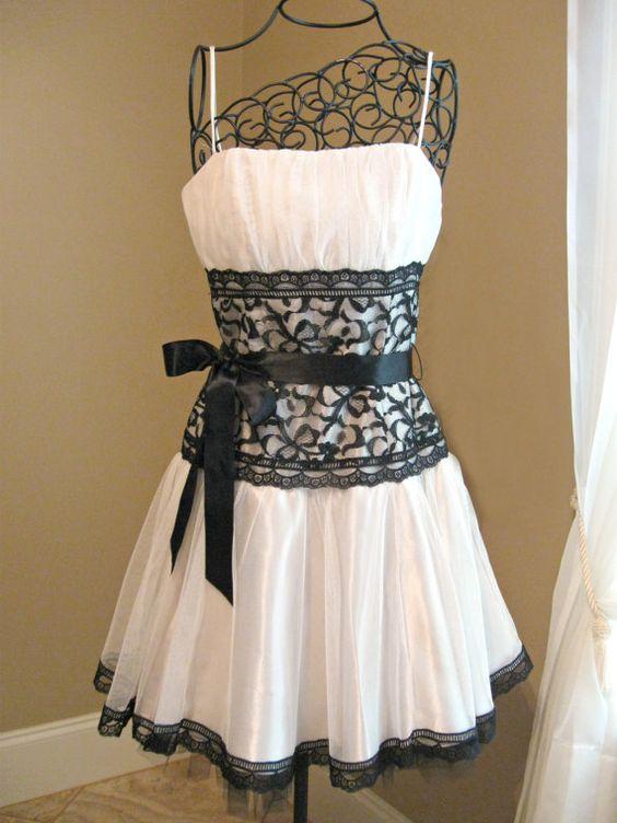 Vintage Gunne Sax Jessica McClintock short dress. White tulle ...