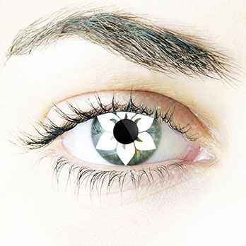 Queen Fun Contact Lenses #Contacts