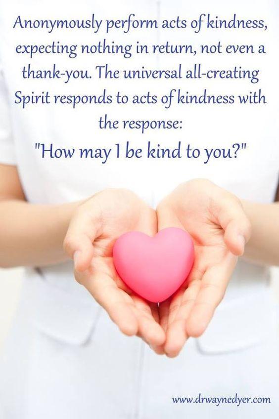 *kindness..: