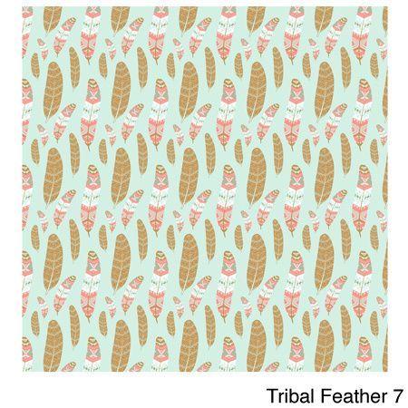 Craft Aztec Tribal Feather Heat Transfer Vinyl Sheets