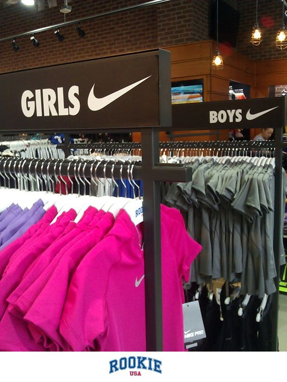 Girls and boys get equal space at RookieUSA - a new retail experience for the young athlete. Sports gear and fashion must-haves line the shelves. Open at 808 Columbus Ave, NYC and a city near you soon!