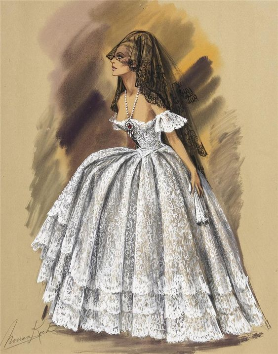 Costume Design by Norma Koch for Ursula Andress in 4 for Texas 1963