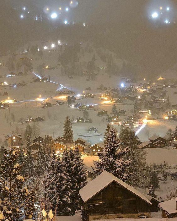 Grindelwald, Suíça | Foto: @sennarelax