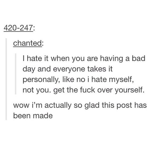 Bad Day Post And Funny Image Relatable Post Tumblr Funny Relatable