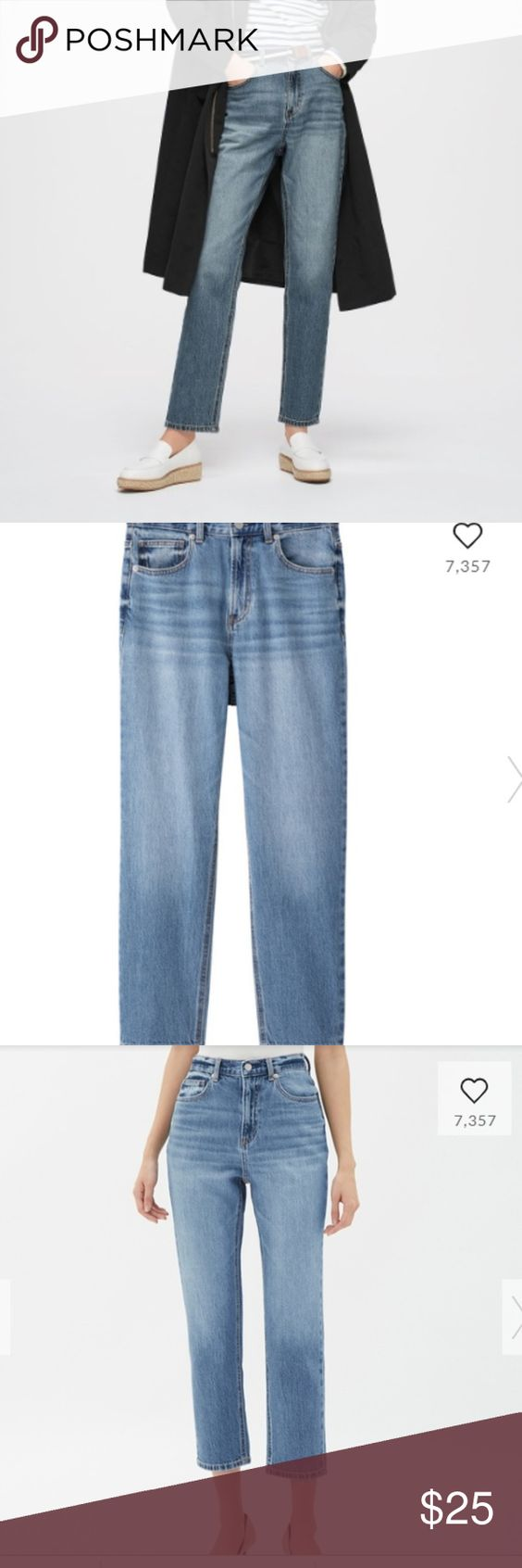 Gu By Uniqlo High Waisted Jeans High Waist Jeans Uniqlo Jeans Jeans