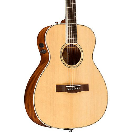 Pm Te Standard Travel Acoustic Electric Guitar Natural Guitar Acoustic Gibson Guitars