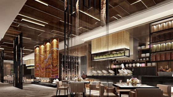 Modern asian restaurant design 3d house free 3d house - Chinese restaurant interior design ...