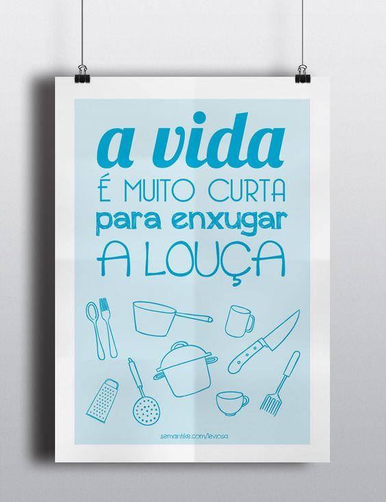 Poster para baixar para sua cozinha: