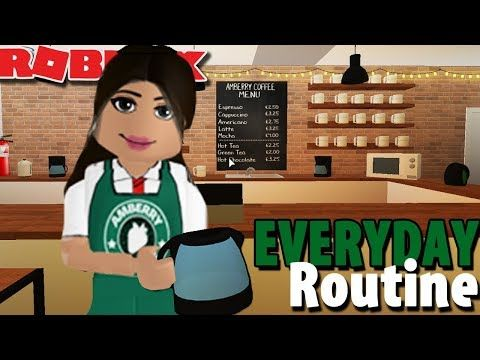 Amberry Roblox Bloxburg House Everyday Routine At Amberry Coffee Shop Bloxburg Roblox Roleplay Youtube In 2020 Roblox What Is Roblox Roblox Shop