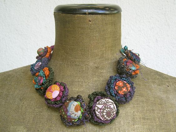 Landscapes: Poland & Norway . Handmade necklaces