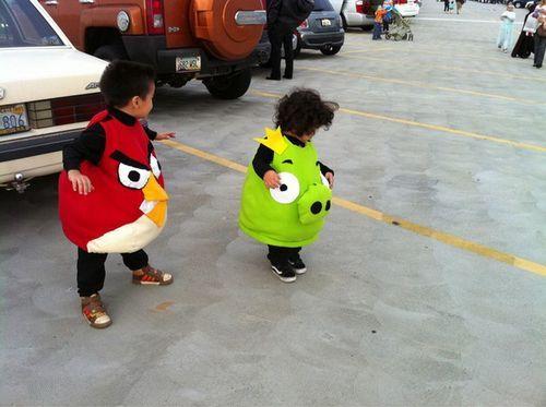 Angry Bird Kids Costumes