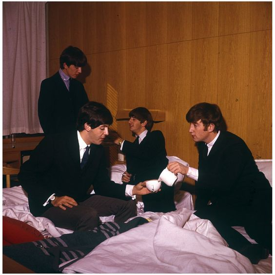 1963 - The Beatles stayed at The Hotel Continental in Stockholm on their first foreign tour.