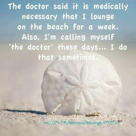 Beach humor