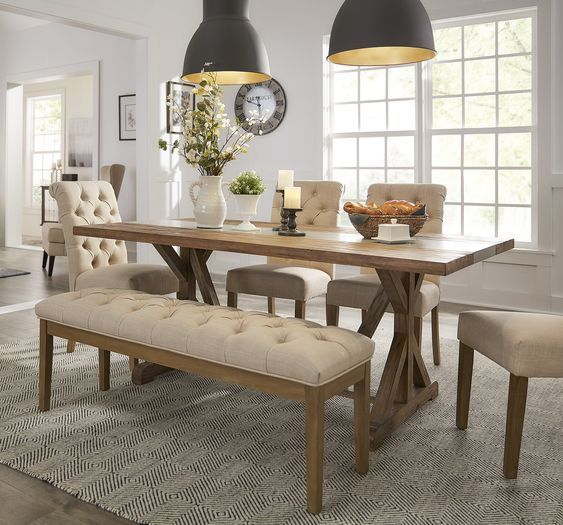 44+ Farmhouse chic dining room sets Best