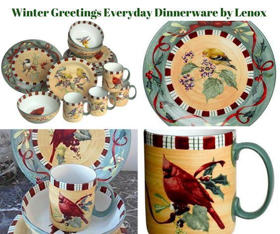 Winter Greetings Everyday Dinnerware by Lenox