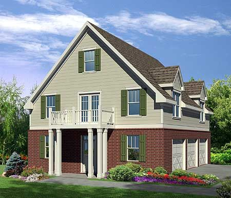 Pinterest the world s catalog of ideas for Carriage house plans with apartment