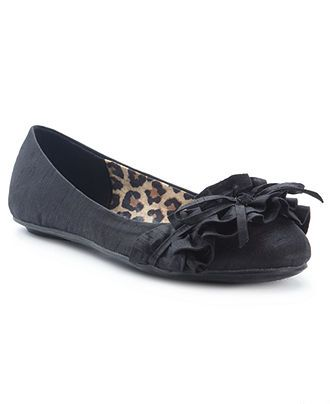 G by GUESS Women's Shoes, Majesty Ruffle Flats - Shoes - Macy's