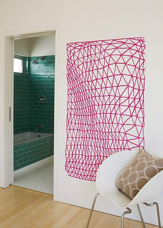 Pinterest the world s catalog of ideas for Diy yarn wall art