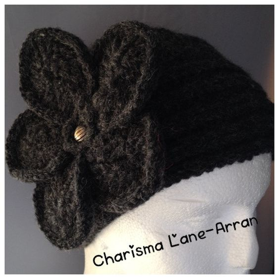 Vintage flower hat by CharismaLane on Etsy