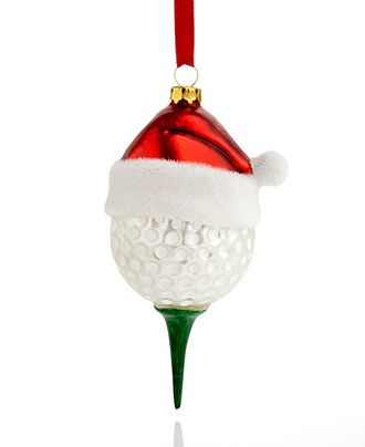 Holiday Lane Golf Ball Ornament - Sale  Clearance - Holiday Lane