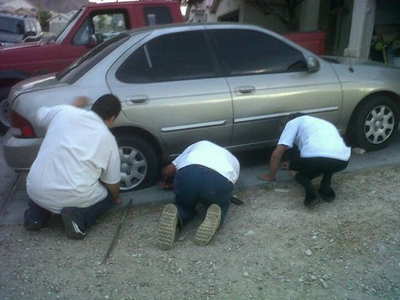 How many mexicans does it take to change a tire? 2 and 1 guatamalan!!!!!! Haha