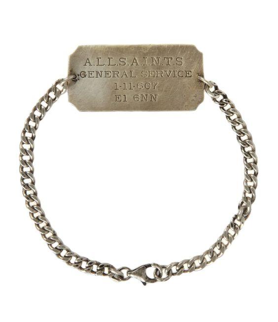 All Saints - Identity Bracelet