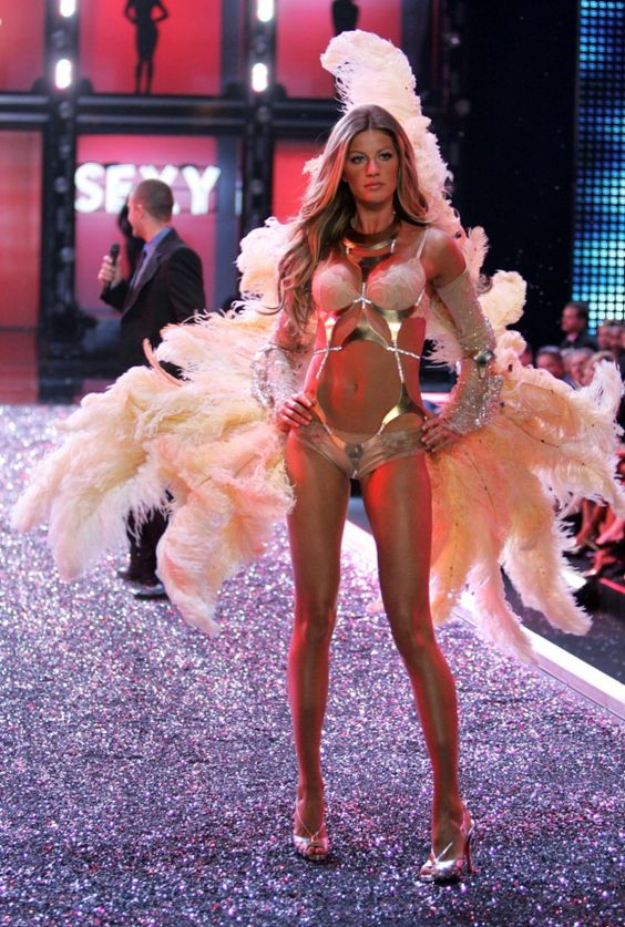 Gisele will go down in history as one of the hottest supermodels to ever take to the runway -- thanks in large part to her Victoria's Secret career. The model began working with the label in 2000.
