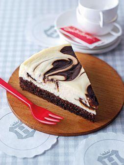 Rezept für Brownie Marble Cheesecake von Cynthia Barcomi