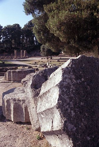 Temples of Hera and Zeus, Olympia