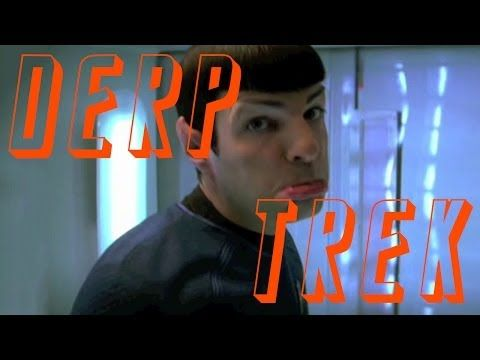 Star Trek trailer recreated using clips from the film's blooper reel