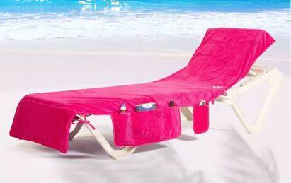 Beach Towel Chair Cover