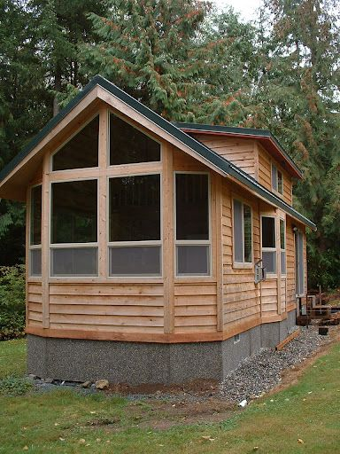 for Foundation tiny house builders