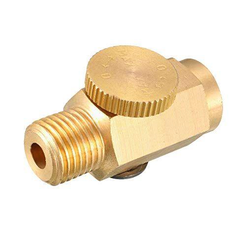 Beduan Pneumatic 1 4 Npt Inline Air Pressure Valve Regulator Compressed Solid Brass Beduan Pneumatic 1 4 Inline Pressure Valve Regulator Compressed