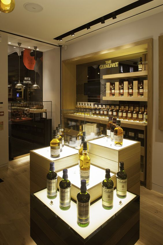 The Whisky Shop flagship store by gpstudio, London store design