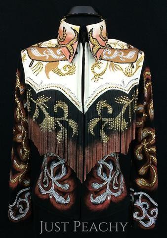 Fringe Jacket by Sweet Magnolia ~ Ladies Small