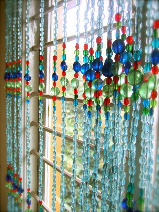 Curtains Ideas beaded curtains at walmart : beaded window curtain | Suspended Animation | Pinterest | The ...