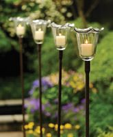 Candle stakes...use to light a walkway