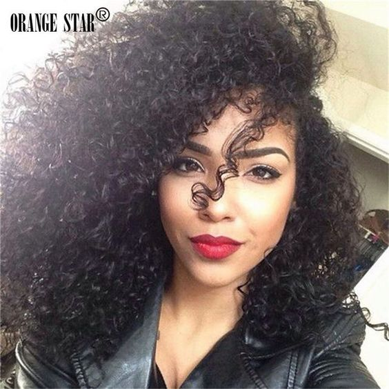 Peruvian Curly Virgin Hair Weave 3 Bundles Human Hair Extension 100%Unprocessed #Orangestar #Jerrycurlykinkycurlyhairbundles