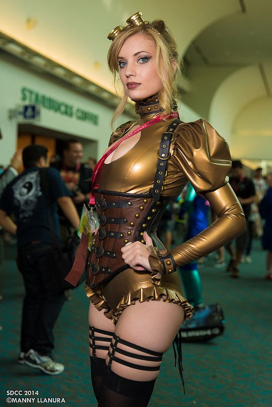 Connu San Diego Comic Con 2014 Amy Wilder steampunk | Comic con 2014  MP63
