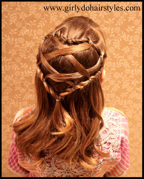 Heart Hairstyle for Valentines Day Girly Do Hairstyles Pinterest