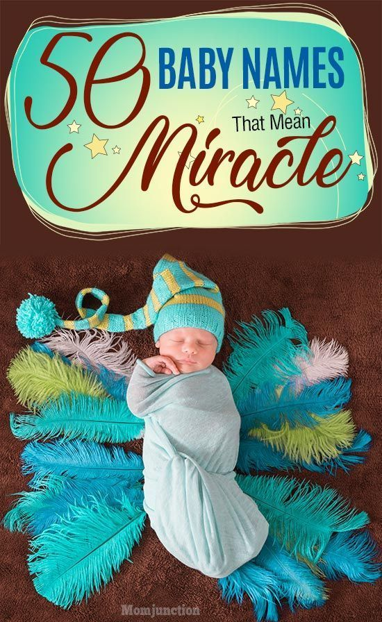 28+ Baby names meaning miracle worker information